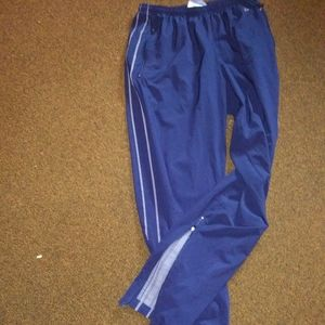 Nike zip up track pant fit dry